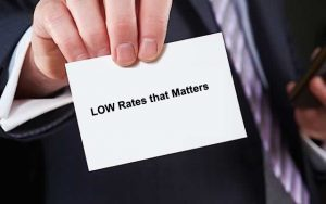low rates that matters